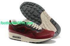 pretty nice 55e59 1fb2c Nike Air Max 1 Premium Tape Wine Red Beige 599514 660  New  Air  Max  Nikes