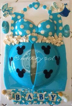 Gelatina para baby shower
