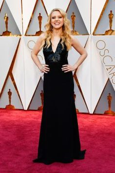 Actor Kate McKinnon arrives at the 89th annual Academy Awards at Hollywood