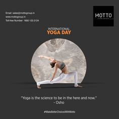 In the times of Covid-19, practicing Yoga has become a necessity now more than ever International Yoga Day..! #Motto #Tiles #mottogroup #Ceramic #FloorTiles #slabtiles #CeramicTiles #CeramicTile #SlabTile #Slab #Tile #Marbles #MarblePlus #YogaDay2020 #InternationalYogaDay #InternationalDayofYoga #YogaDay #YogDiwas International Yoga Day, Osho, Marbles, Tiles, How To Become, Projects, Movie Posters, Room Tiles, Log Projects