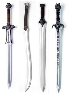 Espada de dragon slayer ,espada de Bispo,e espadas e assassinos