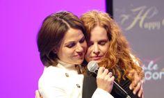 Lana Parrilla and Rebecca Mader