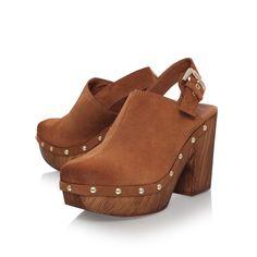 kami tan high heel platform shoes from Carvela Kurt Geiger