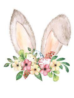 Easter Drawings, Animal Drawings, Cute Drawings, Easter Art, Easter Crafts, Easter Eggs, Bunny Drawing, Bunny Art, Ostern Wallpaper