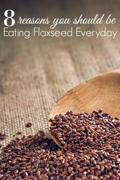8 Reasons You Should Be Eating Flaxseed - Are you eating Flaxseed? These 8 reasons you should be eating flaxseed everyday might surprise you! This superfood is a must have for any healthy diet or healthy recipe! Best Nutrition Food, Fitness Nutrition, Health And Nutrition, Health Tips, Nutrition Products, Nutrition Articles, Proper Nutrition, Nutrition Guide, Nutrition Websites