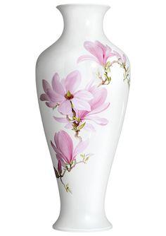 Vase, Magnolia blossoms, Limited Masterpieces, H 57 cm