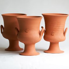 No. Five Terra Cotta Two Handle Urn (each sold separately) © 2006-2014 Frances Palmer Pottery