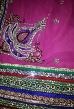 Indian Ethnic Beautiful Traditional gorgeous Designer Style pink new stone sari #sghub #sari