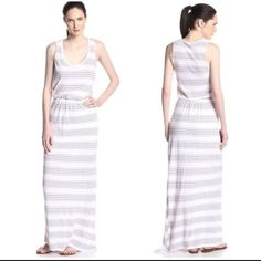 Splendid Striped Maxi Dress