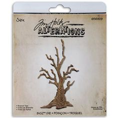 Sizzix Bigz BIGkick/ Big Shot 'Branch Tree' Die