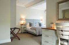 We have twenty seven beautifully decorated bedrooms all with en-suite bathrooms and views of the gardens or access to one of the pools.