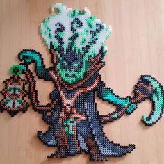 Thresh - League of Legends perler beads by meisen.mann