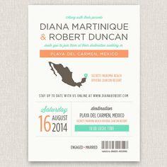 International Modern destination wedding by papertalkpress
