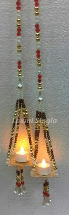 Door Hanging Decorations, Diy Diwali Decorations, Festival Decorations, Flower Decorations, Diwali Diya, Diwali Craft, Diwali Gifts, Hobbies And Crafts, Cd Crafts