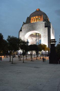 Viva Pancho Villa. Revolution Monument . Mexico City.
