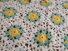 HEXIGAN Crochet Blanket and Shawl  Cuddle   BY nannycheryl original ID 647(A) £45.00