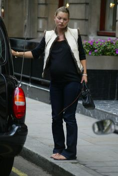 Kate Moss Pregnant
