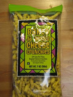 What's Good at Trader Joe's?: Trader Joe's Baked Jalapeño Cheese Crunchies