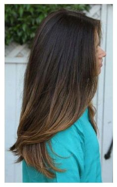 Fall Ombre Color. http://wendylynonline.com/3-new-dos-bootiful-hair Rich  dark. Perfect for a first timer who'd like to ease into some ombre coloring, without so much commitment to bleached blonde ends. Sign up for free on our website for more Naked to Knockout tips!