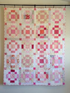 Cheer Circle do.Good Stitches January Quilt by HappierThanABirdQuilts, via Flickr