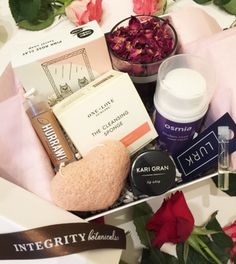 CUPID BOX...a limited edition set of gorgeous non-toxic beauty for Valentine's Day!  Only $99 for a value of $120!