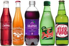 Sodas from the South! I didn't even know about these sodas until I read this article. Might have to take a road trip....