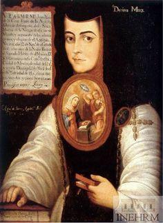 """Inehrm Efemérides INEHRM 12 de noviembre de 1648. Nace en la hacienda de San Miguel Nepantla, Estado de México """"La Décima Musa"""" Sor Juana Inés de la Cruz."""
