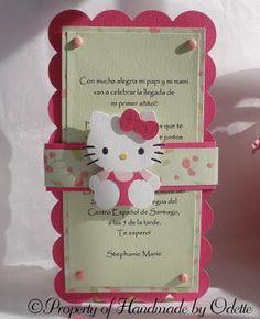 Hello kitty invite