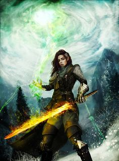 Elf Inquisitor - Dragon Age Inquisition Fanart by EngendrARTE on DeviantArt