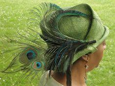 Fancy Straw HatParasisal Straw Hats New Hand by KartisimDesign, $130.00