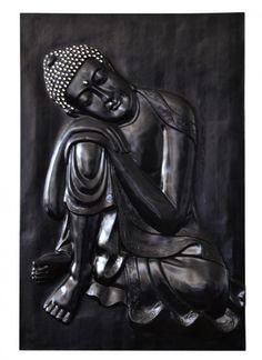 3D Wandbild Buddha