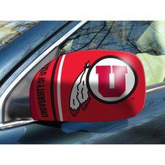 Utah Utes NCAA Mirror Cover (Small)