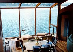 Marshall Vacation Rental - VRBO 114178 - 2 BR San Francisco Bay Area House in CA, Exquisite Poet& Loft on Tomales Bay in Marshall, it Feels Like Home Interior Architecture, Interior And Exterior, Design Interior, Beautiful Homes, Beautiful Places, Loft House, Lake View, My Dream Home, Dream Homes