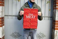 Artwork culinaire contre l'hyper production de la viande.