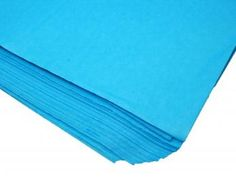 Blue Packaging Tissue Paper    Price: $2.50/pack of 24