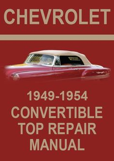 chevrolet 1965 impala convertible roof service and repair manual rh pinterest com 1969 Impala 1966 Impala