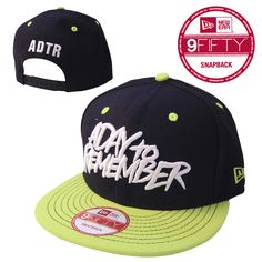 A Day To Remember - Black And Green Logo New Era Hat - $27.98