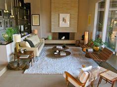20 Captivating Mid-Century Living Room Design Ideas - Rilane