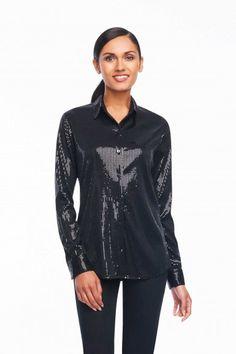 Foxcroft Sequin Blouse | Foxcroft Clothing