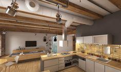 Interior Design Project designed by Ivanov Catalin - Boston Loft Interior - Boston, Massachusetts, United States | Arcbazar