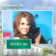 Angie Miller visits her hometown: Beverly, MA!