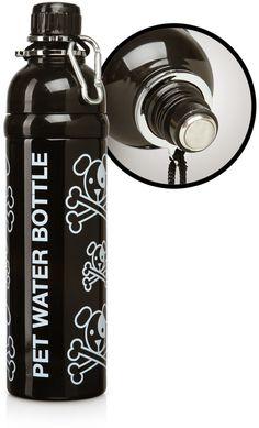 ThinkGeek :: Pet Water Bottle with Roller Ball