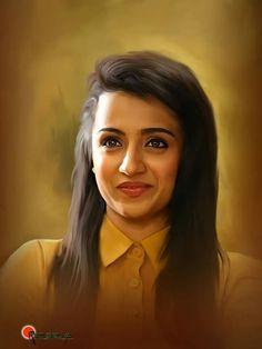 Beautiful Girl Sketch, Beautiful Girl Image, Beautiful Bollywood Actress, Most Beautiful Indian Actress, Digital Portrait, Portrait Art, Pineapple Drawing, Super Pictures, 3d Art Drawing
