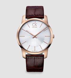 Buy Calvin Klein - City Watch for Men - Silver (Brand Warranty) at Best Price in Pakistan Mens Watches Leather, Leather Men, Brown Leather, Pink Leather, Cool Watches, Watches For Men, Wrist Watches, Men's Watches, Fashion Watches