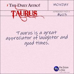 """dailyastro: """" Taurus Visit The Daily Astro for more Taurus facts. There's a treasure trove of inspiring taurus zodiac goodness at the best free site for astrology. Venus In Gemini, Sun In Taurus, Capricorn And Taurus, Taurus And Cancer, Taurus Quotes, Taurus And Gemini, Taurus Facts, Taurus Horoscope, Zodiac Cancer"""