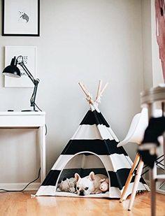 little dove Pet Teepee Dog House Toy Tent Dog Bed 24 Inch... https://www.amazon.com/dp/B01LKOCBQA/ref=cm_sw_r_pi_dp_x_9cUdybVHQC1JE