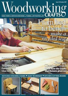Here It Is The June Issue Of Woodworking Crafts Magazine