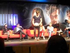 Matt Smith Shows Off Football Skills - Doctor Who Convention