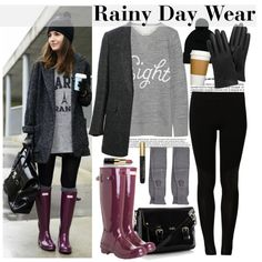 """""""Rainy Day Wear"""" by bamaannie on Polyvore"""