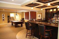Basement bar ideas photo